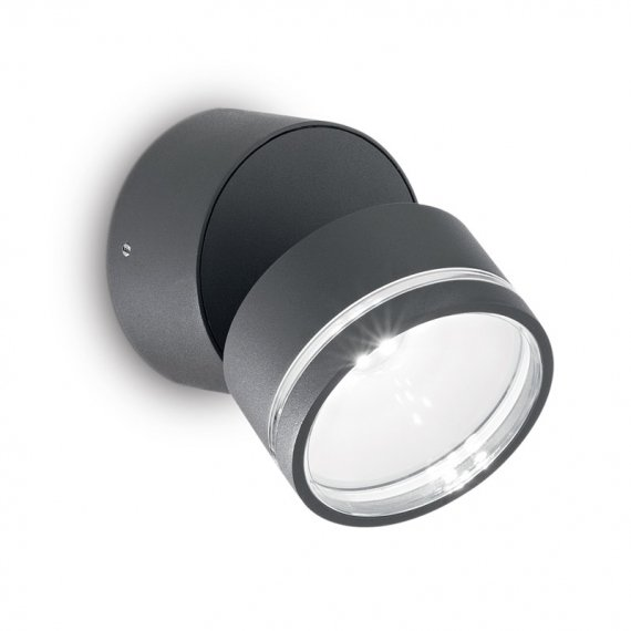 IDEAL LUX OMEGA ROUND APLIQUE EXTERIOR