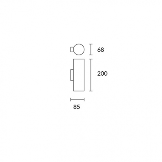LEDS-C4 PIPE APLIQUE DE PARED
