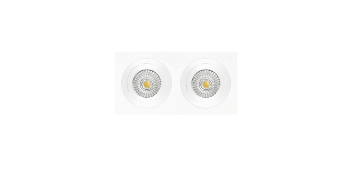 NEXIA INOX S CUADRADO 2 DOWNLIGHT LED CUADRADO