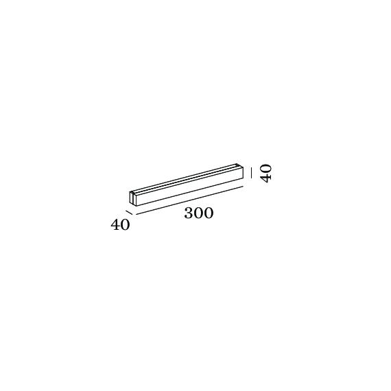 WEVER & DUCRE MIRBI LONG IP44 APLIQUE