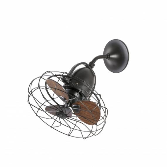 Ventilador Faro KEIKI Ø450MM MARRON 3 PALAS