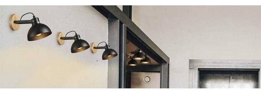 Lámpara Aplique de Pared - Descuentos y Promociones en la web, ¡Entra!