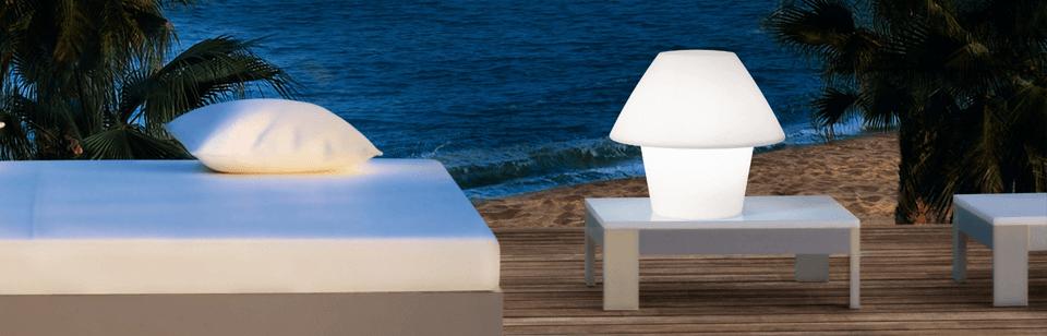 Sobremesa | Lámparas de exterior | iLuxiform.com