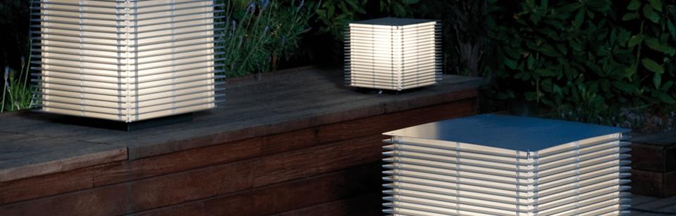 Lámparas de Pie Exterior | ¡CON DESCUENTOS! | iluxiform.com