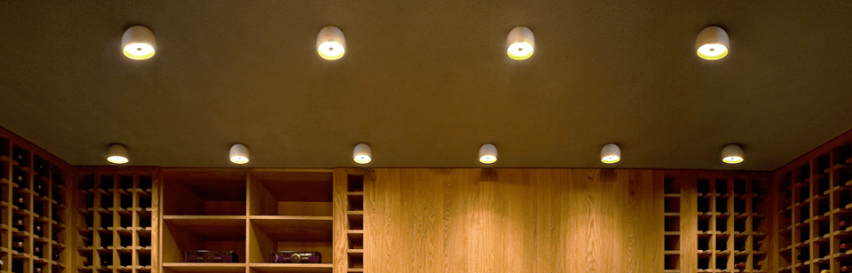 Plafones de Techo para interiores. Luminarias de diseño ✓